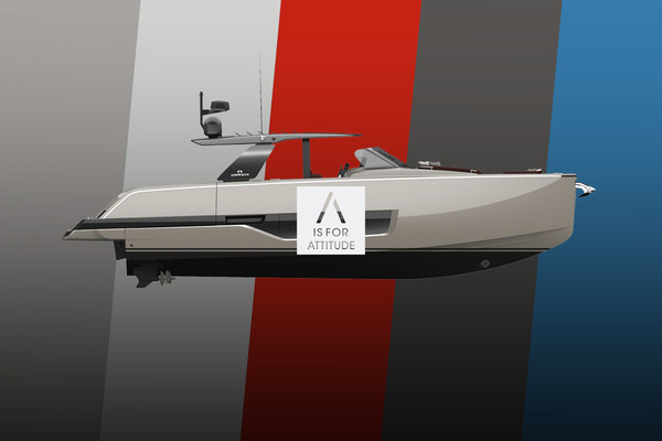 Colours, decors and options. Customise the A44 Luxury Tender according to your wishes