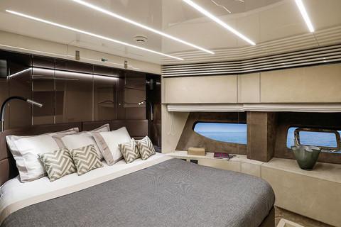 Cranchi Settantotto / Roma Decor / VIP cabin