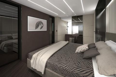 Cranchi Settantotto / Milano Decor / Owner cabin