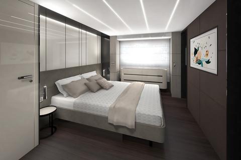 Cranchi Settantotto / Siracusa Decor / Owner cabin