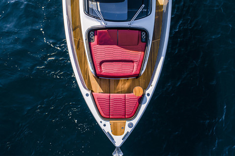 A46 Luxury Tender - Bow area