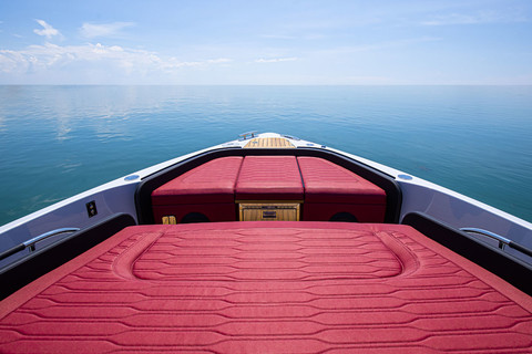 A46 Luxury Tender - Bow area lounge