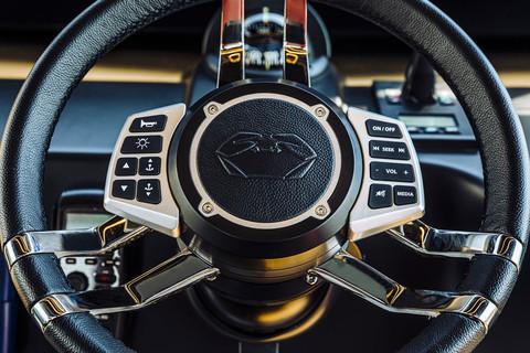 A46 Luxury Tender - Steering wheel