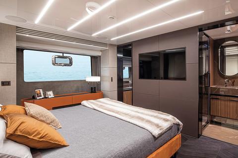 Cranchi Settantotto - Master cabin