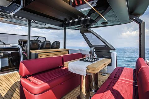 A46 Luxury Tender - Cockpit